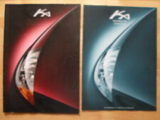 FORD Ka prestige brochure prospekt 1997 + Specs + price list - Dutch market