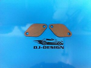 2 pack New VW EGR Blanking plate for T4,T5 4mm steel