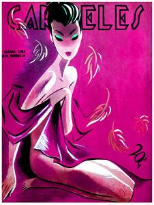 6325 Wall Art Decorative. Bohemia La Habana Cuba magazine cover POSTER