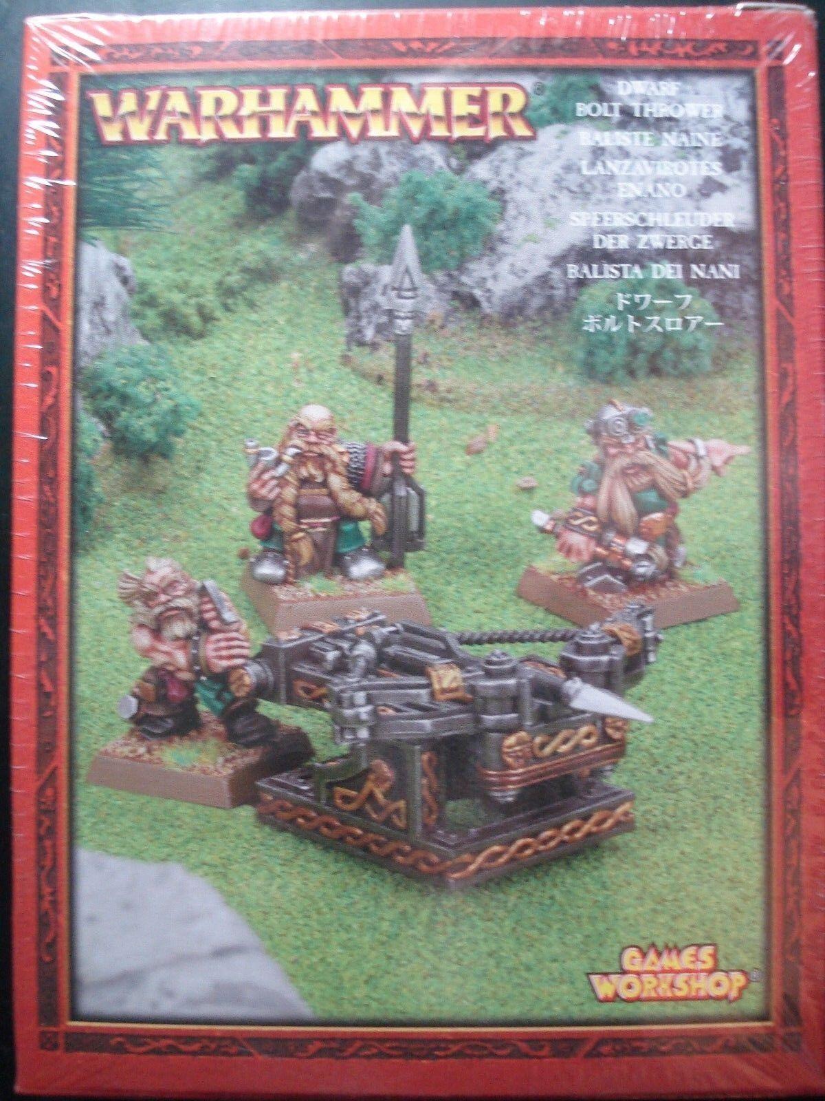 Warhammer AoS Age of Sigmar Dwarf Bolt Thrower Metal New Sealed OOP NIB