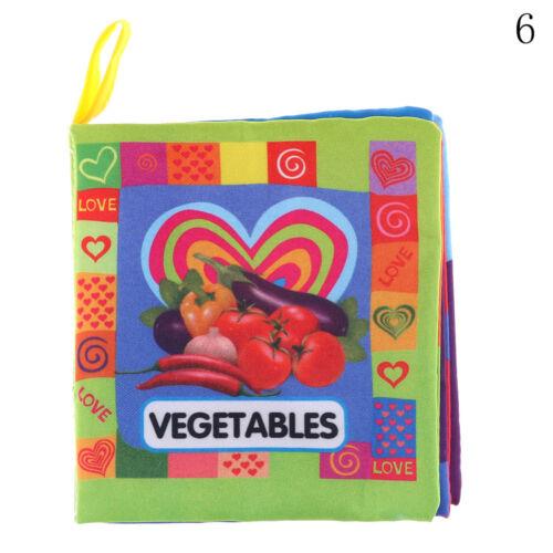 Newborn 0-3 Years Infant Fabric Cloth Books Educational Baby Toys Nice