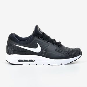 Nike Air Max Zero Essential Black White Dark Grey 2017 Men's