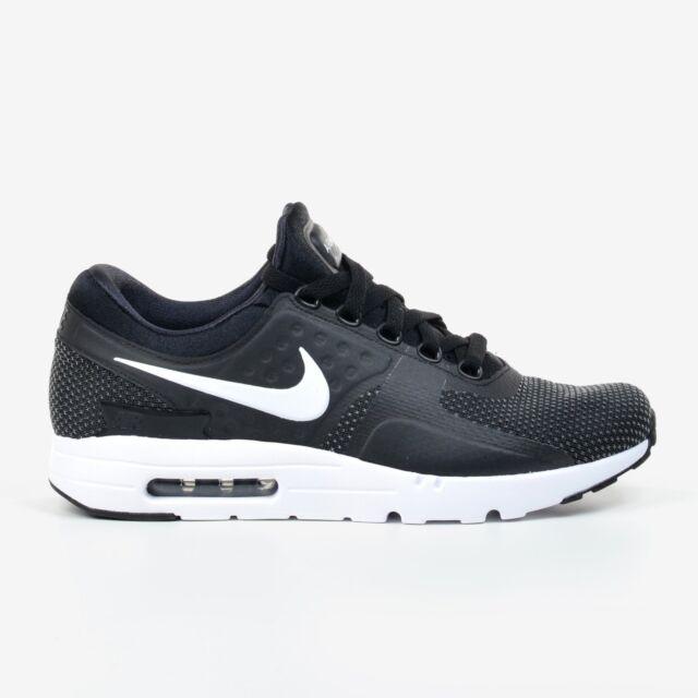 Nike Air Max Zero Essential Black White Dark Grey 2017 Men's Running 876070 004