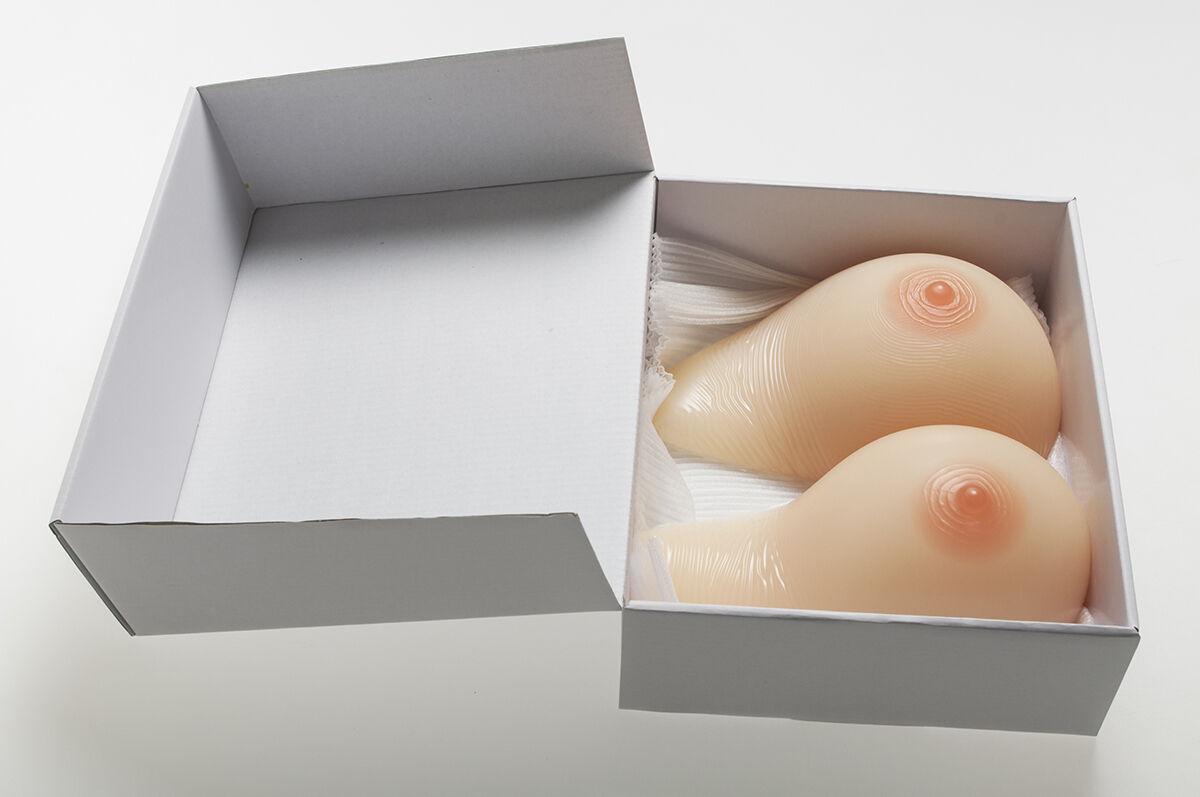 2019 Faux Ivita Drag Queen Breast Forms Transgender seins Crossdress TG CD 1600 G