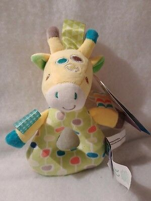 Toys For Baby Rattles Tireless Taggies Gumdrop Giraffe