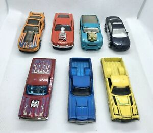 Hot-Wheels-Ford-Mustang-paquete-JOBLOT-Die-Cast-auto-Ranchero-Fusion