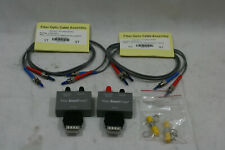 New Agilent Wirescope 350 Fiber Smartprobe Set 8501300nm Multimode Mm Withcables