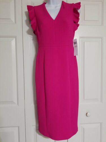 Nwt Knee Size Length London Dress Cap Us Times 0 Sleeve Pink qvxp4fRx