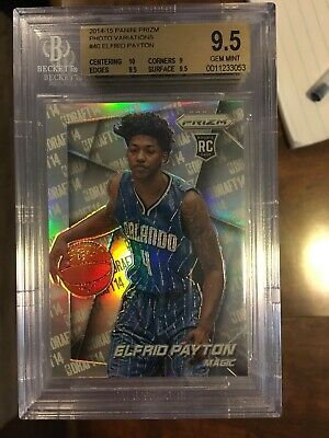 Dependable Elfrid Payton Orlando Magic 2014 Prizm Photo Variation Rookie Bgs 9.5 Gem Mint Sports Mem, Cards & Fan Shop With The Most Up-To-Date Equipment And Techniques Sports Trading Cards
