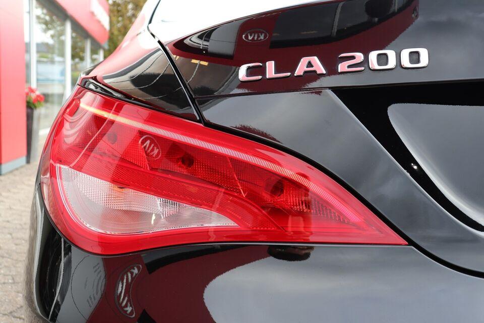 Mercedes CLA200 1,6 aut. Benzin aut. Automatgear modelår