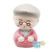 Japanese Porcelain Grandma Car Bobble Head NSS1/GM S-2145 AU