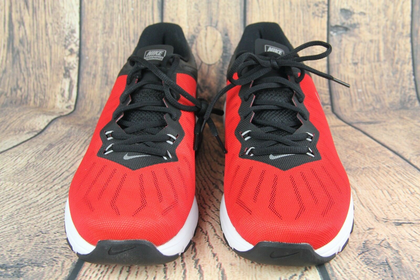 a88630c8b3 NIKE Air Max Full TR Sneakers shoes Black Red Men's Size 12 NEW 819004-600  Ride ntjvgg7831-Athletic Shoes