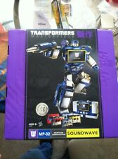 Transformers Masterpiece Soundwave Decepticon