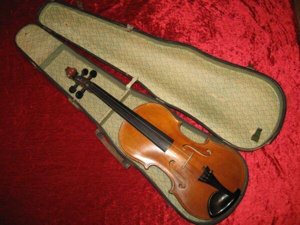 +++ Sehr Schöne, Alte 4/4 Geige (erst Ein Wenig überholungsbedürftig) +++