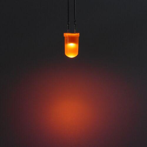 5mm Diodo diffuso LED Ultra Bright Light emettitore lunga pin