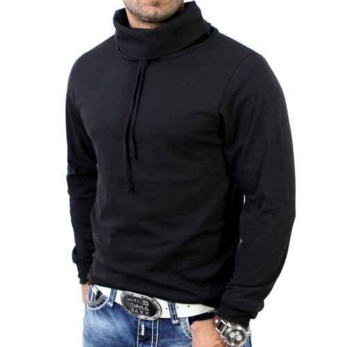 R-Neal sweatshirt us chemise longue pull t-shirt rn-5360 noir-vente!