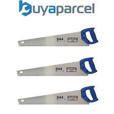 "X 3 Bahco 244 Hardpoint 22"" Hand Saw Medium Cut 500mm BAH24422 244-22-U7/8HP"