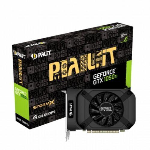 Palit GTX1050 Ti DUAL OC,4GB DDR5,PCIe3, DVI,HDMI,DP,1480MHz  Clock,Overclocked