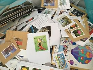 GERMANY-400-Grams-Kiloware-stamps-on-paper-of-recent-years-Very-good-choice