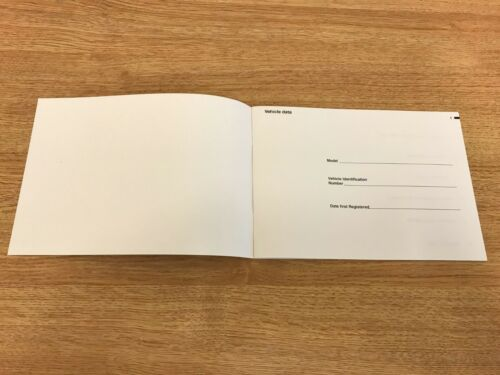 BMW SERVICE BOOK BRAND NEW GENUINE FOR ALL PETROL AND DIESEL CARS OEM+