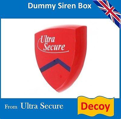 Dummy Alarm Siren & Flashing Led's