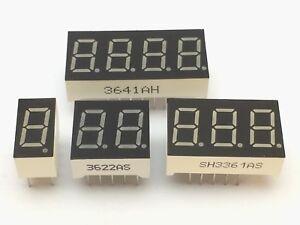 7-Segment-Anzeige-9mm-1-2-3-4-Ziffern-Gemeinsame-Anode-Kathode-display