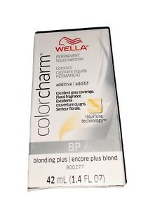 how to use wella blonding plus