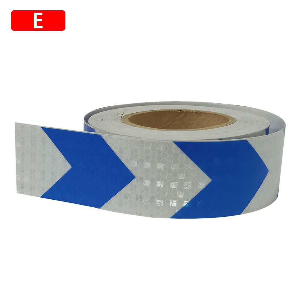 5*300cm Arrow Reflective Conspicuity Tape Film Safety Warning Sign Car Truck RV