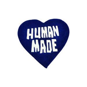 New Custom Bape Nigo Human Made Heart Logo Indoor Floor Door Mat Rug Carpet Blue