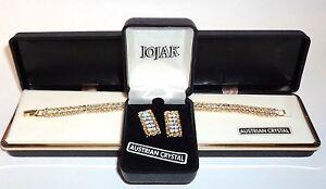 Set-Of-Austrian-Crystal-Earrings-and-Bracelet-by-JOJAK