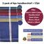 100-Mens-Cotton-Handkerchiefs-Large-Gents-King-Size-White-Dark-Color-Lot thumbnail 30