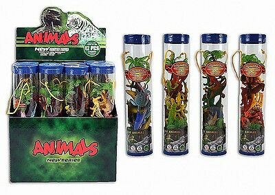 14 partie. jouets en caoutchouc  Insectes Dinosaures Vie marine