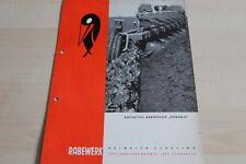 144225) Rabewerk Aufsattel Drehpflug - Phoenix - Prospekt 09/1967