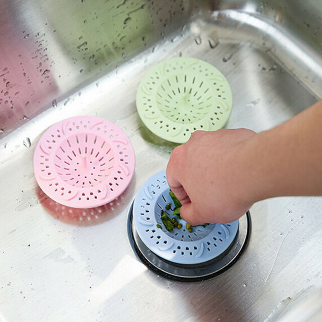 HAIR CATCHER BATH DRAIN SHOWER TUB STRAINER COVER SINK TRAP BASIN FILTER
