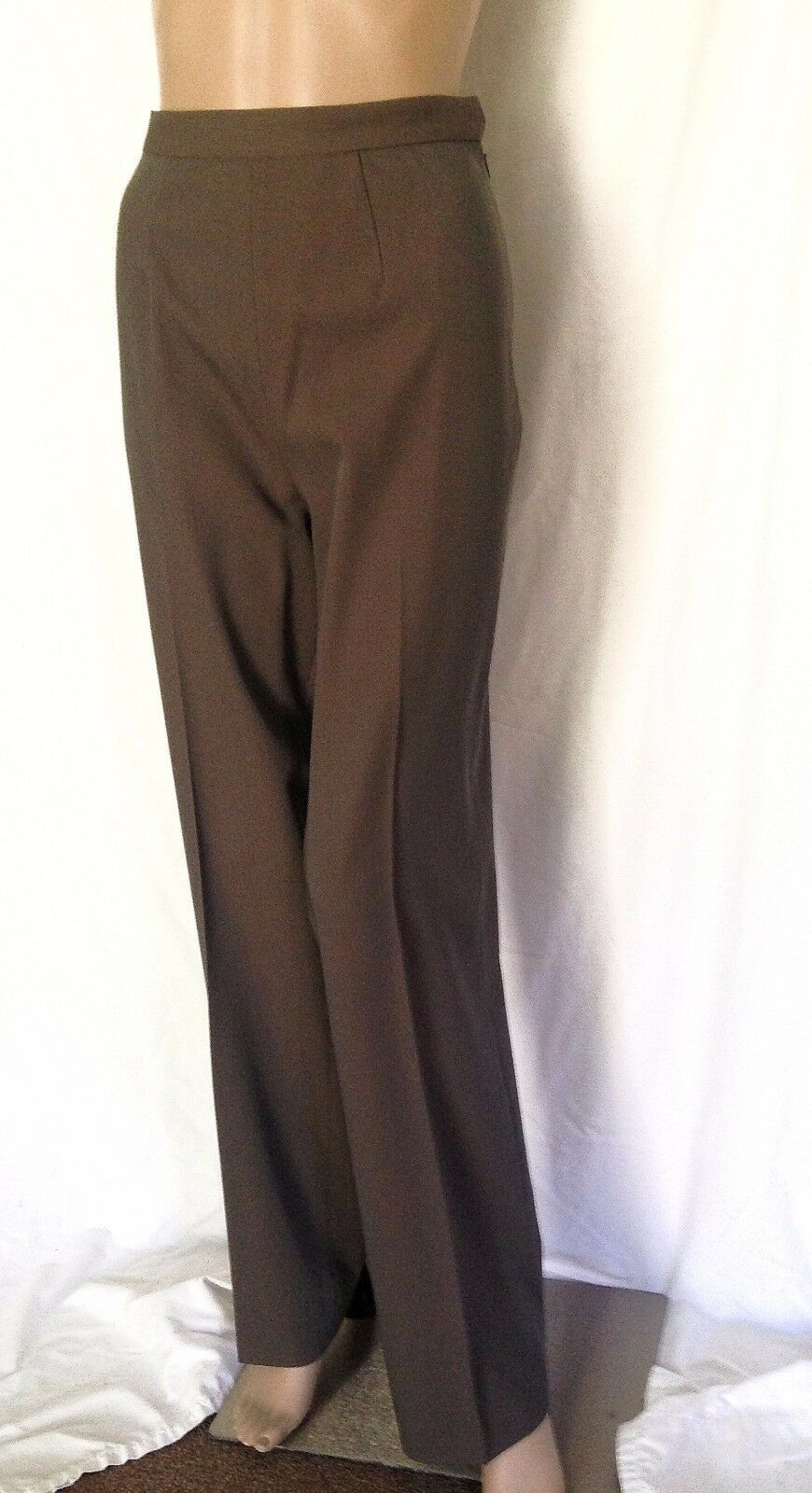 Jean Paul Gaultier Classique Olive Grün Light Wool Pants Größe 12 - EUC