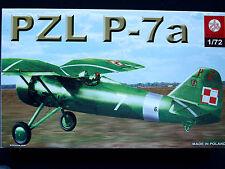PZL P-7A POLISH SEPTEMBER 1939 FIGHTER, ZTS PLASTYK, SCALE 1/72