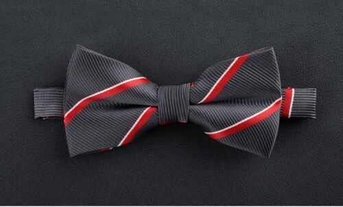 5 Colour Options Charming Men/'s Business Wedding Formal Double Layer Bow Ties