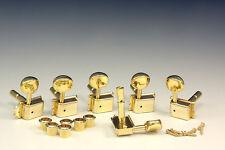 Kluson Vintage Lockheads Accordatori Meccanismi Oro