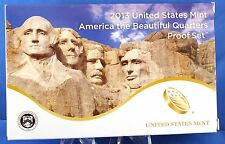 2013-S America the Beautiful Five Coin Clad Proof Set in U. S. Mint Box with COA