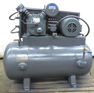 Ingersoll Rand Air Compressor Type 30 Model 242 5c3 5hp