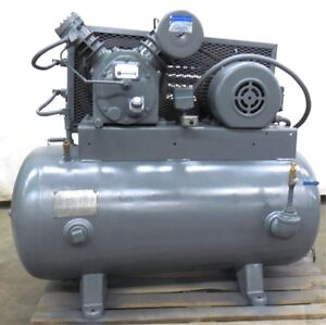 Details about INGERSOLL RAND AIR COMPRESSOR TYPE 30, MODEL 242-5C3, 5HP  MOTOR, SER  30T-490875