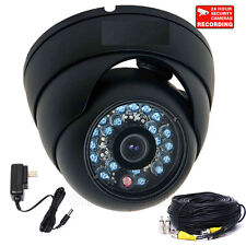 "Dome Security Camera 1/3"" Color CCD Outdoor Wide Angle Day Night Vision CCTV cf8"