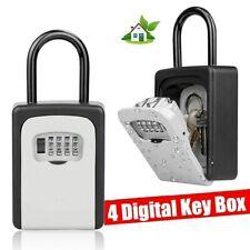 4 Digit Safe Lockbox Key Lock Box For Realtor Real Estate Hook Organizer Storage