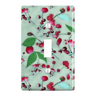 Wild Cherry Blossoms Pattern Plastic Wall Decor Toggle Light Switch Plate Cover Ebay