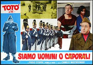 CINEMA-fotobusta-SIAMO-UOMINI-O-CAPORALI-toto-p-stoppa
