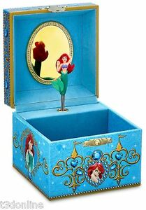 AUTHENTIC DISNEY ARIEL THE LITTLE MERMAID MUSICAL JEWELLERY JEWELRY