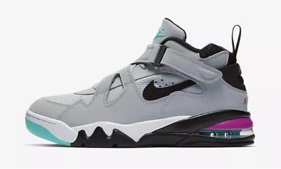 New Nike Men's Air Force Max CB Shoes (AJ7922 003) Wolf GreyBlack L Fuchsia   eBay