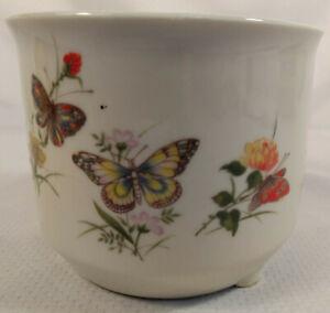 Vintage TAKAHASHI San Francisco Hand Paintes Flower Pot / Flower Planter