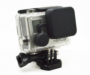 Silicone Protective Lens Cap Case Cover For GoPro Hero 3+/4 Housing