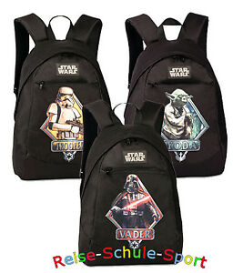 STAR-WARS-Darth-Vader-Yoda-StormTrooper-Fabrizio-Kinder-Rucksack-SLAP-NAP-380